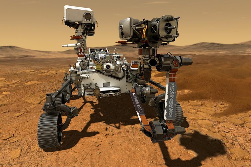 Американский марсоход Perseverance («Настойчивый») совершил успешную посадку на Марс 18 февраля.
