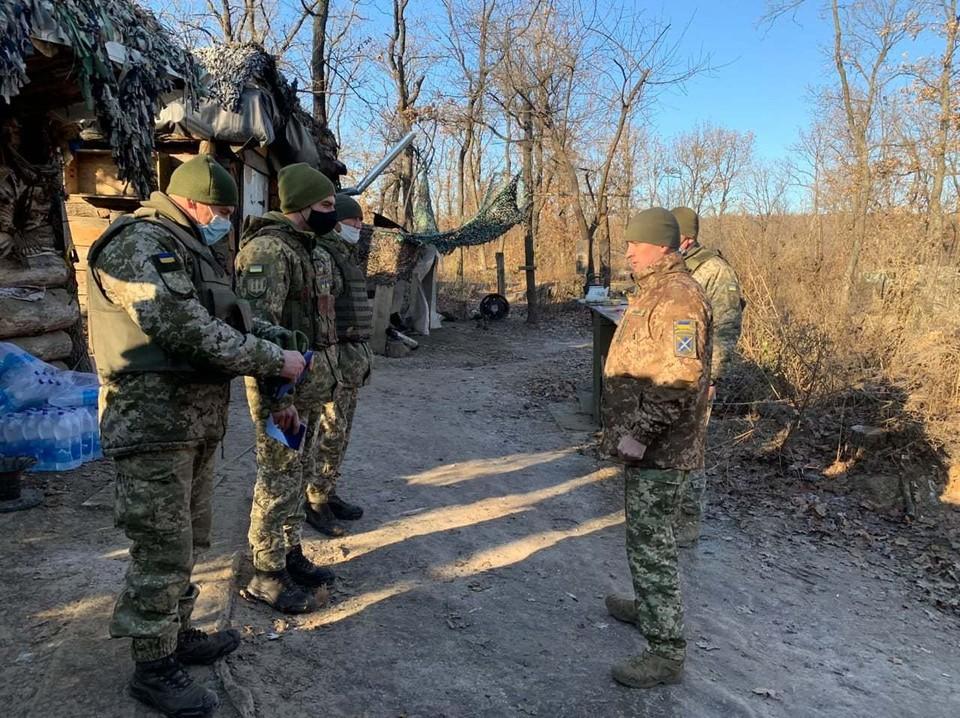 ВСУ два раза за сутки обстреляли ДНР. Фото: Штаб ООС