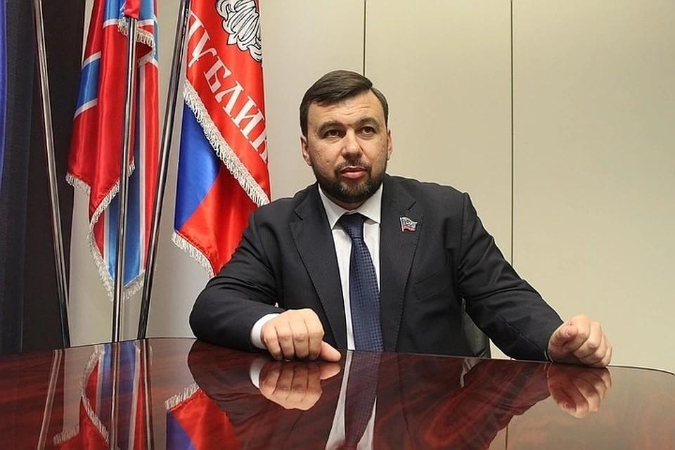 Глава ДНР поздравил с Днем профсоюзного работника Республики