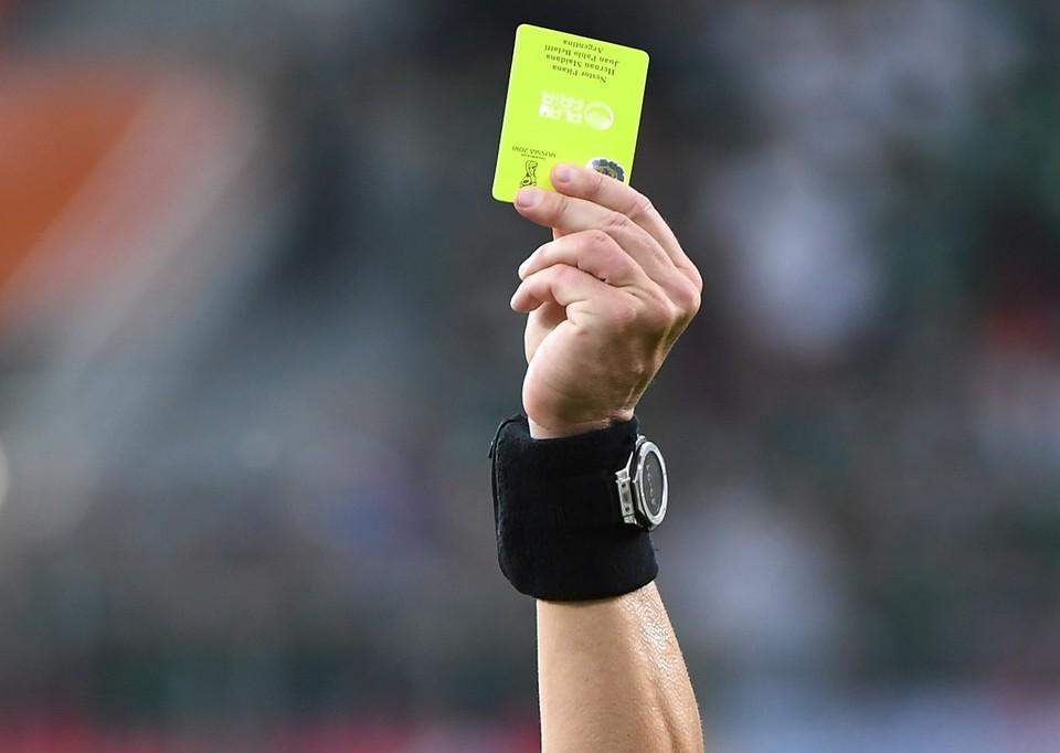 Тренер «Львова» получил желтую карточку, потребовав от судьи говорить на украинском
