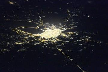 Необычный снимок ночного Санкт-Петербурга сделали космонавты МКС