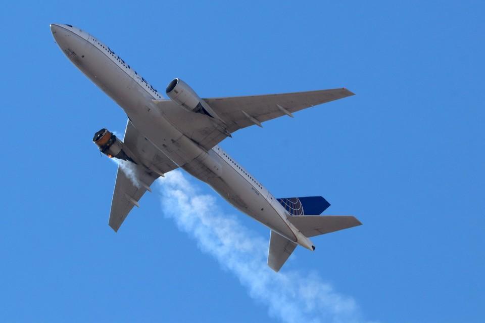 Власти США назвали «усталость» металла возможной причиной возгорания двигателя Boeing 777
