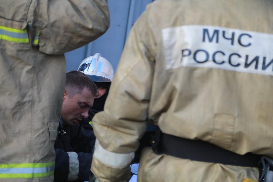 По пути в Красноярск загорелся автобус с 30 вахтовиками