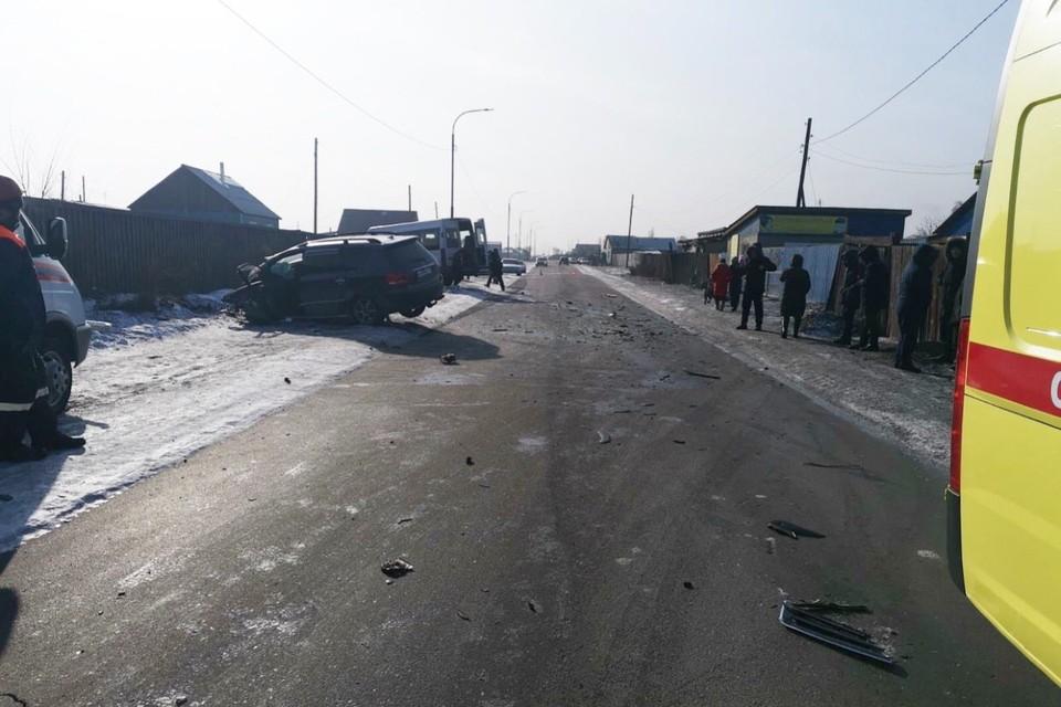 Троих детей госпитализировали с сотрясением мозга, а сам водитель иномарки попал в реанимацию Фото: МВД