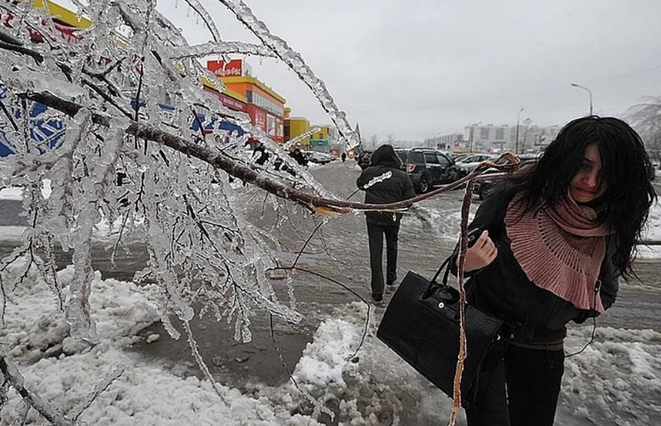 Синоптики предупредили москвичей о снеге и ледяном дожде 24 и 25 февраля 2021
