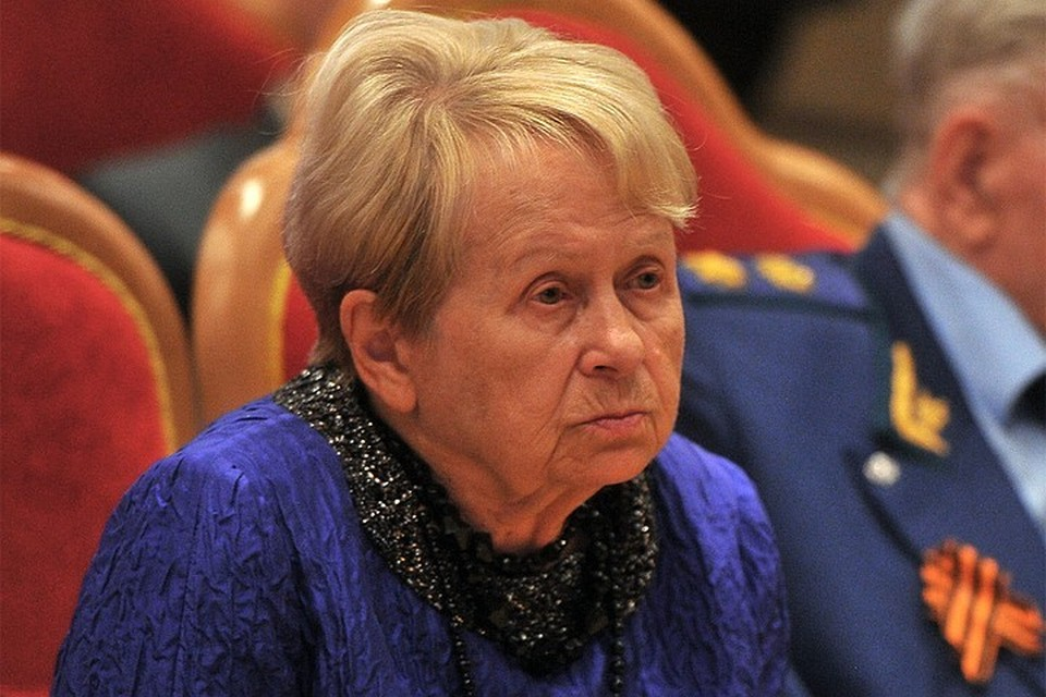 Александра Пахмутова впервые появилась на публике после тяжелой болезни