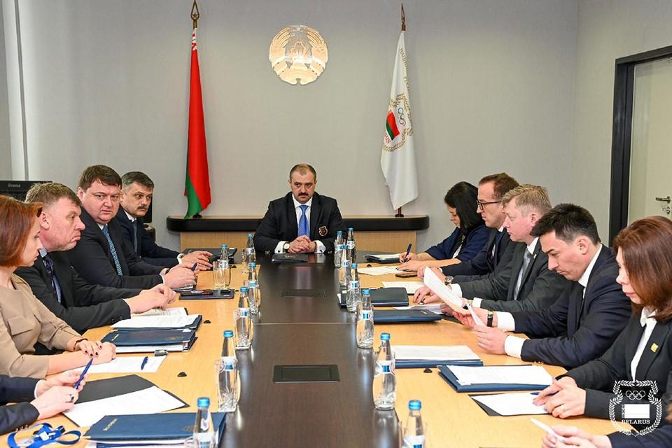 Теперь Виктор Лукашенко – президент НОК, а в его исполком вошли Басков, Черкашина, Цилинская, Зубрилова