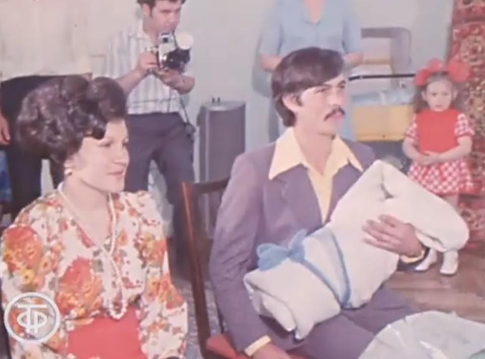 Федор Гурдиш стал 500-тысячным жителем Кишинева (Фото: скрин с видео).