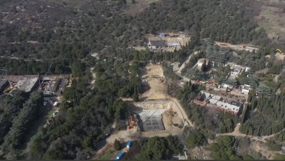 Место строительства нового лагеря «Ак-Барс». Фото: Катерина Ялтинская/Facebook