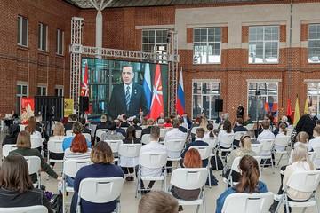 Прошедший в Туле Всероссийский урок мужества «Стоявшие насмерть» посмотрели 18 миллионов человек