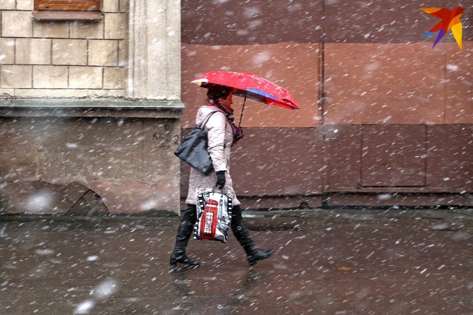 День воскресенья, 7 марта, в Беларуси будет ветренным и со снегом.