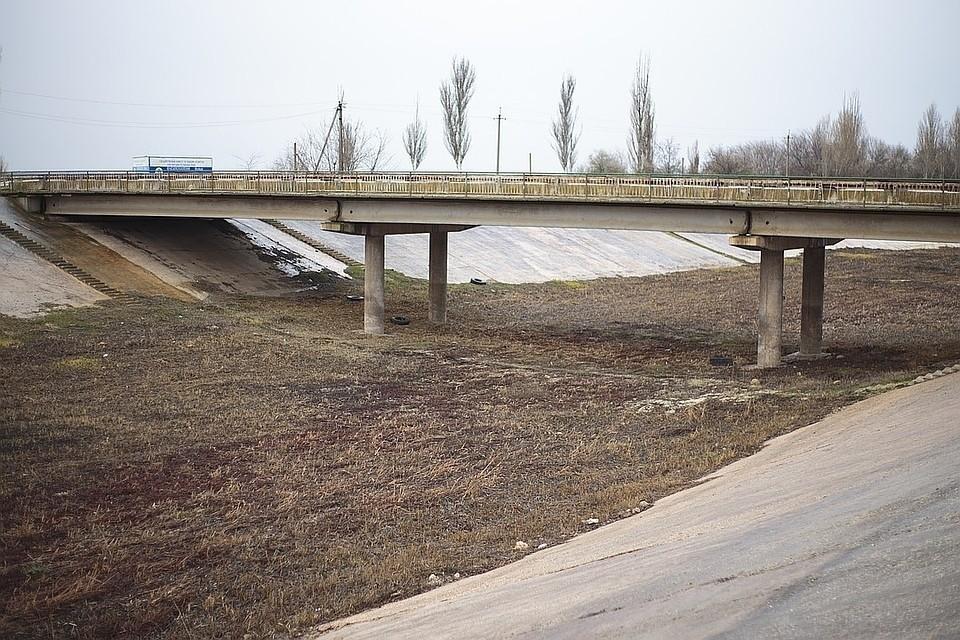 Северо-Крымский канал перекрыт с 2014 года