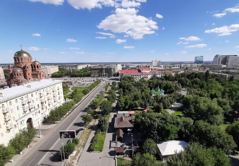 Комсомольский и Горсад по праву считаются самыми зелеными в Волгограде.