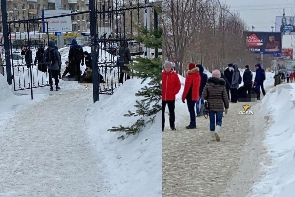 """В Новосибирске была найдена погибшей девушка убитого около НГТУ студента. Фото: """"АСТ-54"""""""