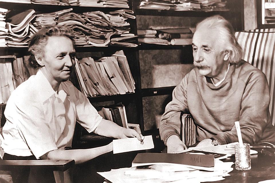 Двум нобелевским лауреатам - Ирен Кюри и Альберту Эйнштейну - было что обсудить во время их встреч. Фото: Daily Herald Archive/globallookpress.com