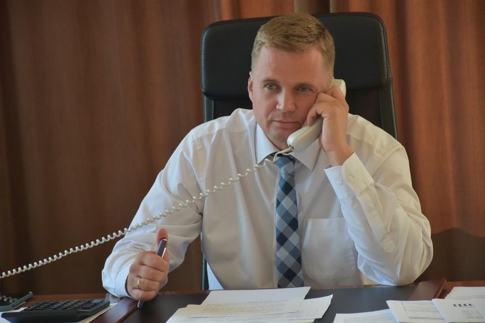 Александр Виноградов был отправлен в СИЗО на два месяца. Фото: администрация города Троицка Челябинской области / Vk.com