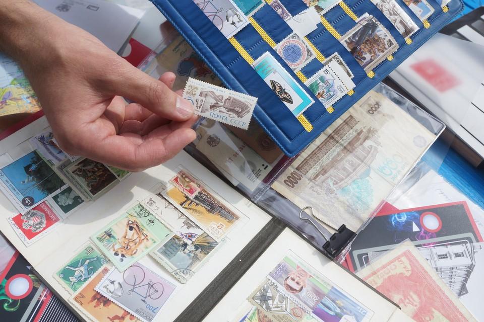 На коллекции советских марок можно заработать капитал.