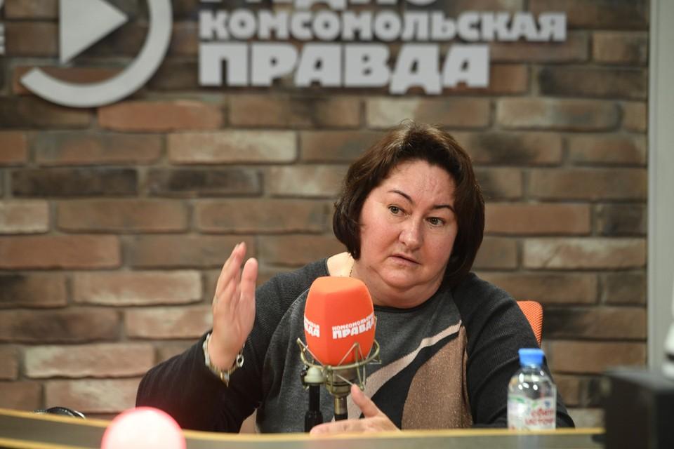 У нас в гостях на Радио Комсомольская правда побывала главный тренер сборной России по лыжным гонкам Елена Вяльбе