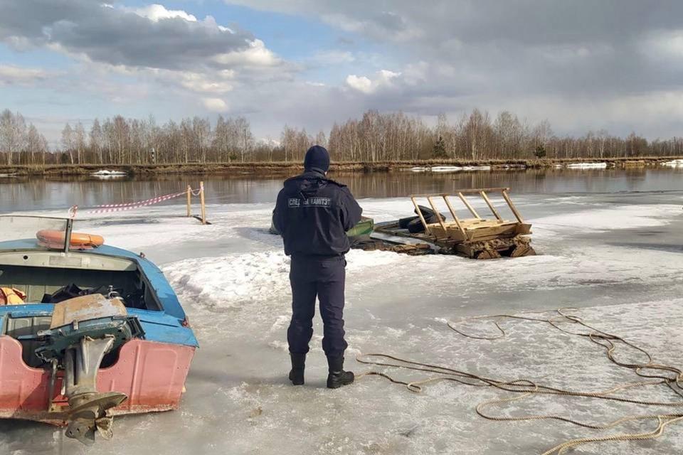 Ребенок провалился под лед в Бобруйске и погиб