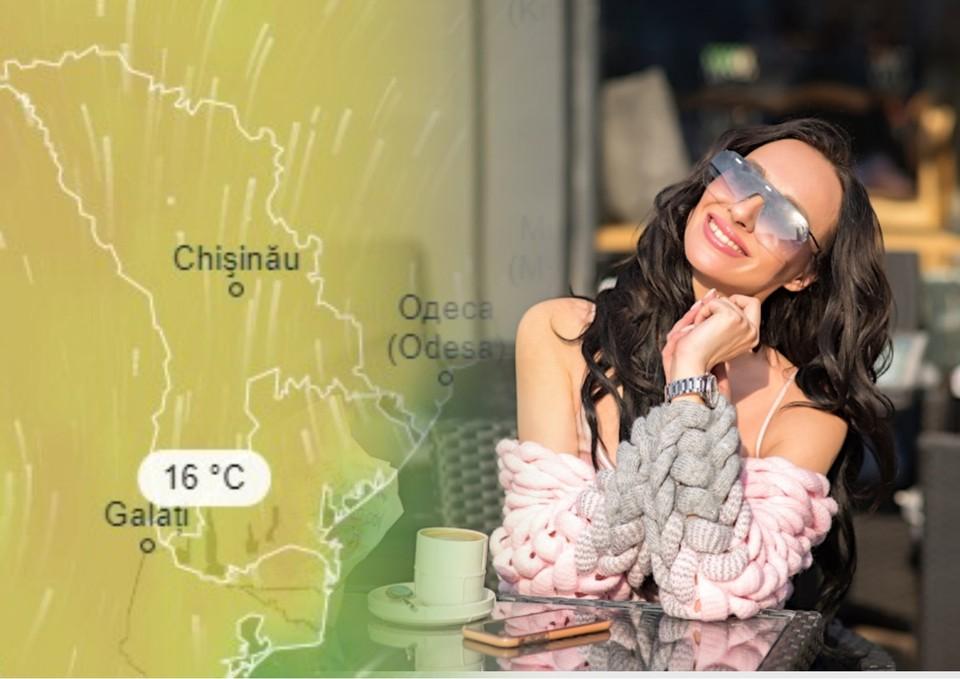 В выходные будет уже очень тепло.