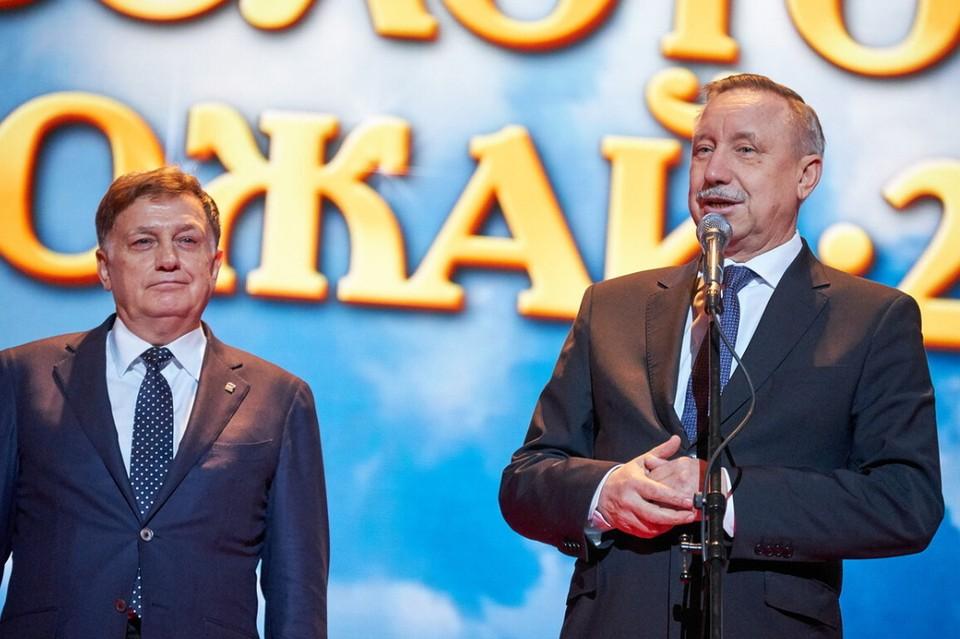 Беглов предложил Макарову идти в Госдуму.