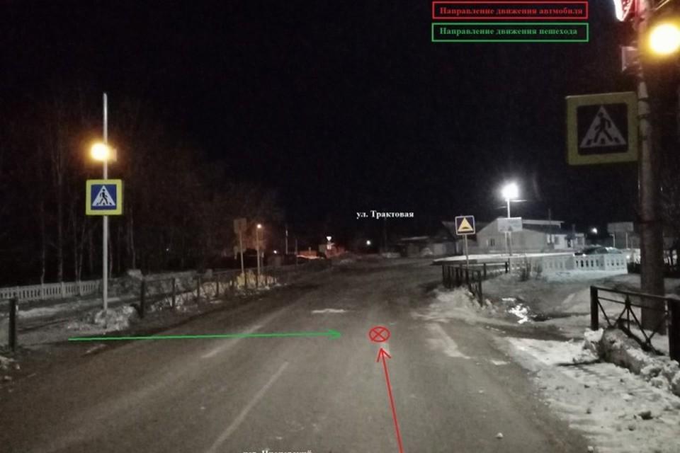 В Красноярском крае сбивший подростка водитель сдался полиции. Фото: ГИБДД