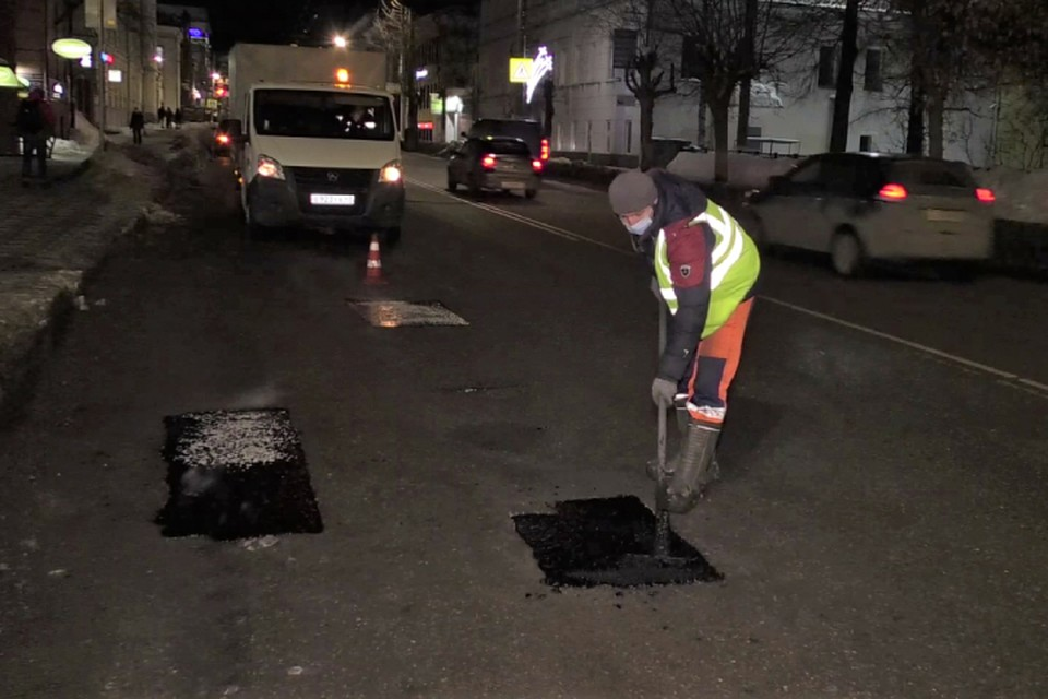 В ближайшее время работы будут выполнены еще на пяти улицах города. Фото: admkirov.ru