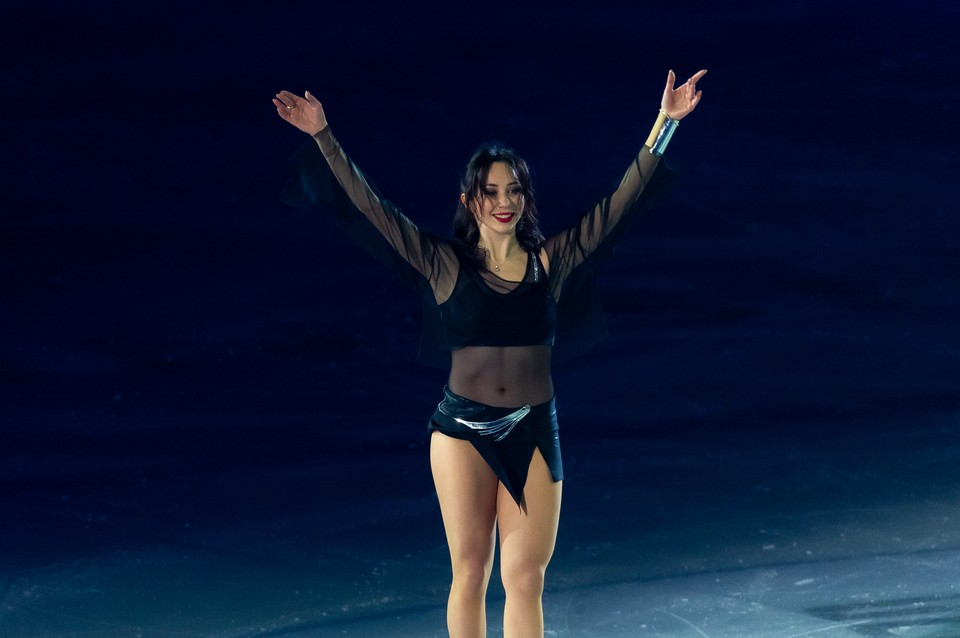 Лиза Туктамышева спустя 6 лет взяла медаль на ЧМ по фигурному катанию.