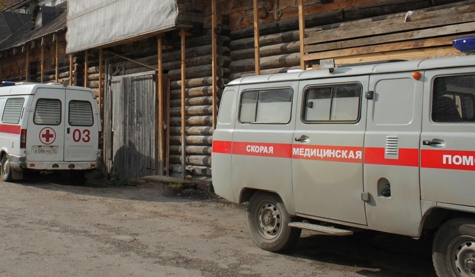 Станция скорой помощи в Калуге.