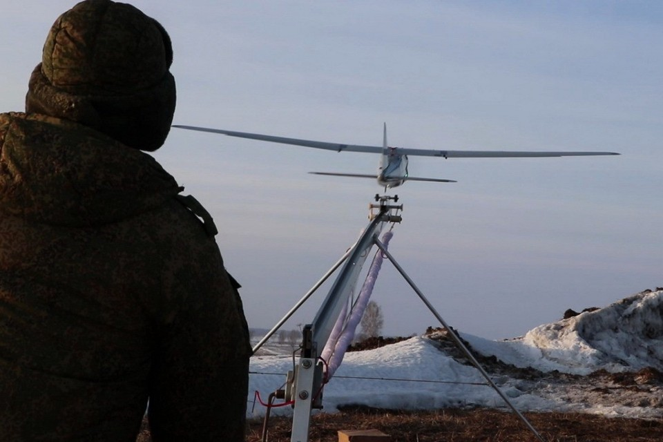 За паводками на Енисее будут следить военные беспилотники. Фото: пресс-служба ЦВО