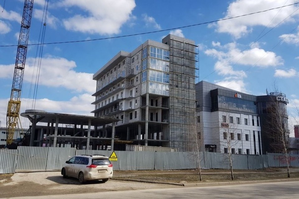 Здание строят на Шумакова, 21. Фото: инспекция строительного и жилищного надзора Алтайского края.