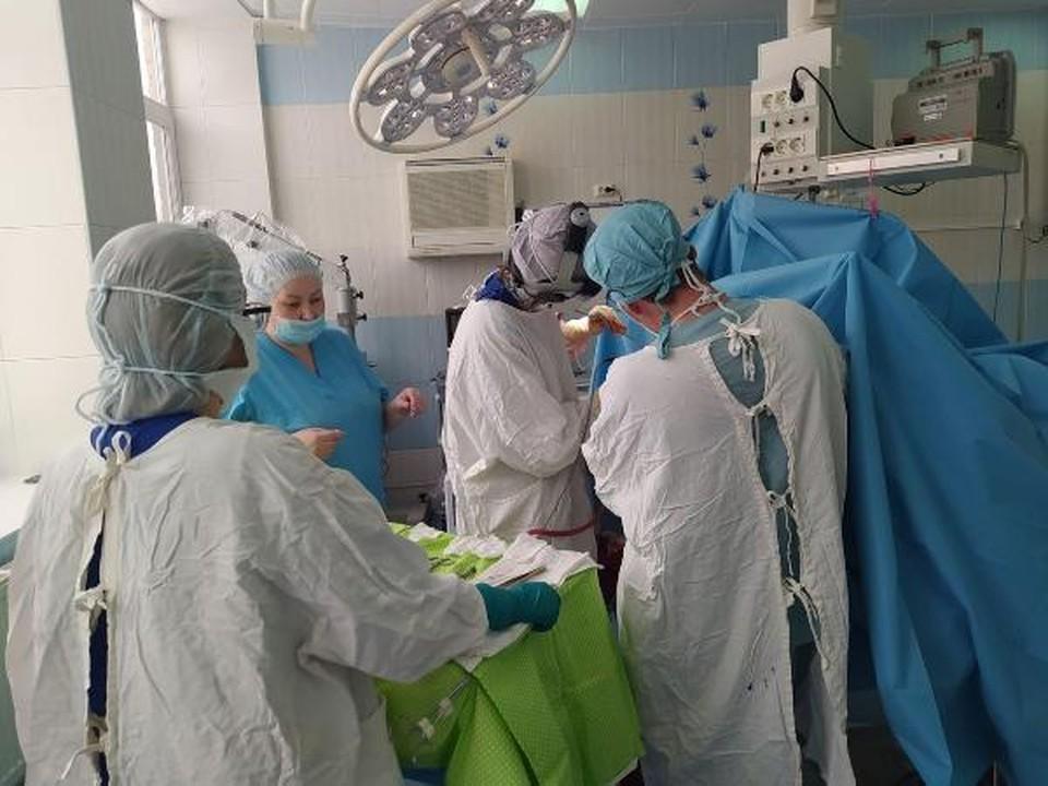 Врачи Удмуртии создали для пациента индивидуальный имплантат Фото: пресс-служба минздрава Удмуртии