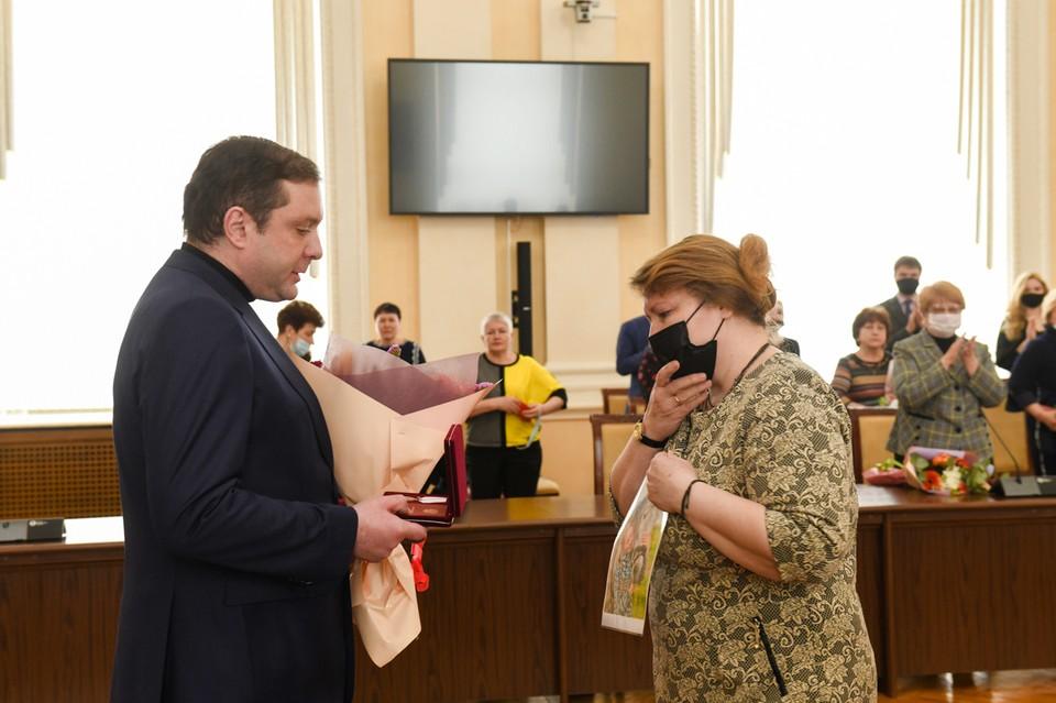 Смолянам вручили Государственные награды. Фото: администрация Смоленской области.