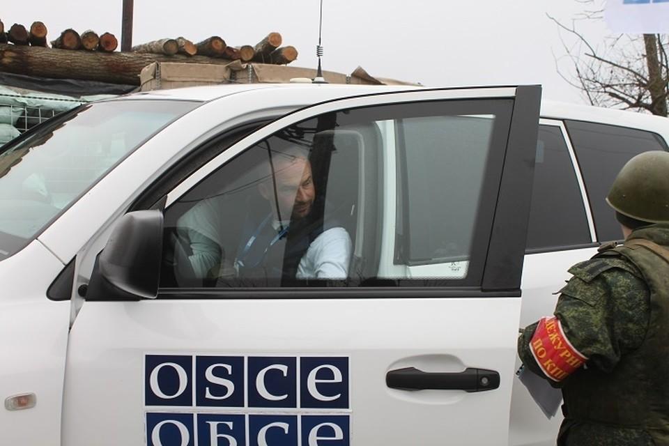 Наблюдатели СММ ОБСЕ работают в Донбассе с 2014 года