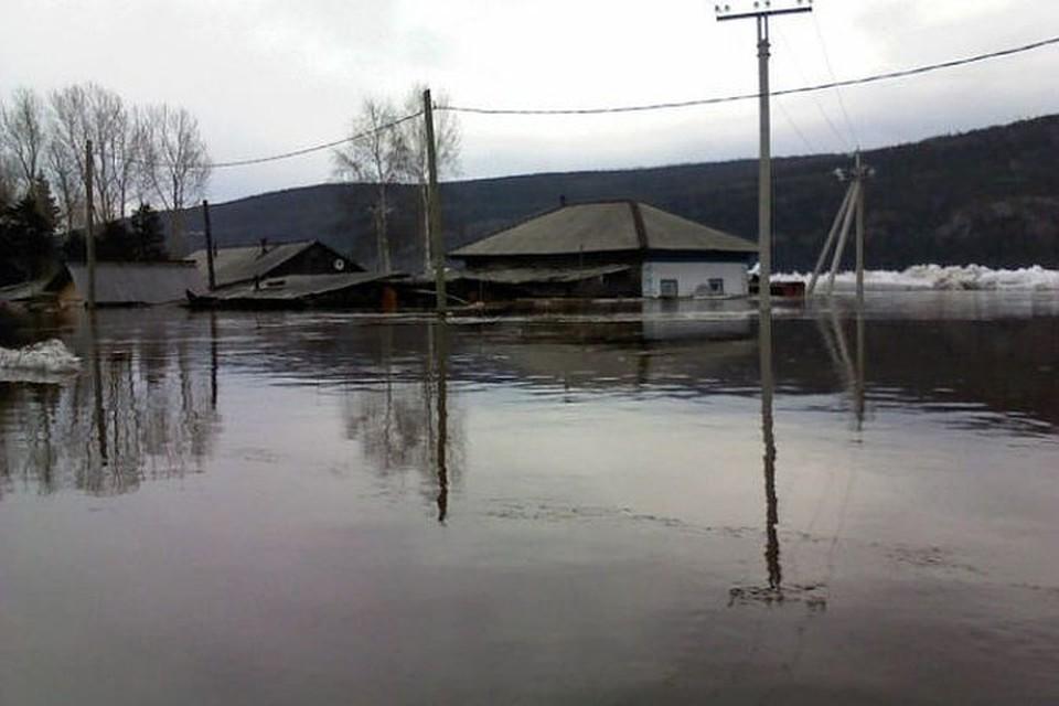 МЧС: Подтопления талыми водами возможны на юге и западе Иркутской области.