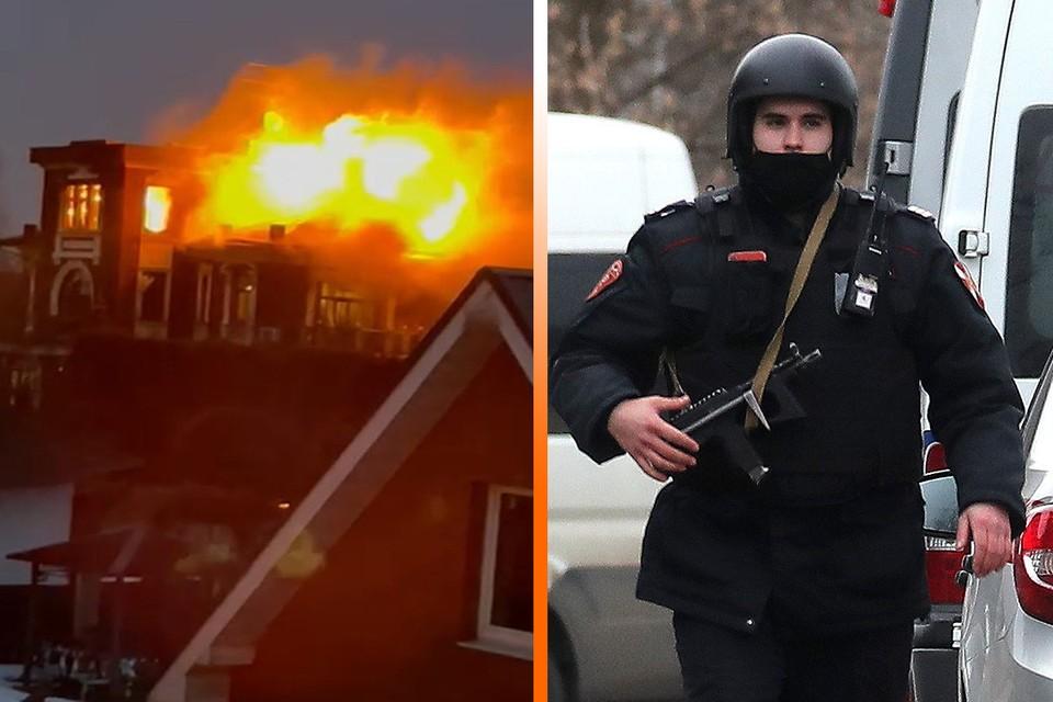 Особняк Владимира Барданова пришлось штурмовать бойцам Росгвардии. Фото: Сергей Савостьянов/ТАСС