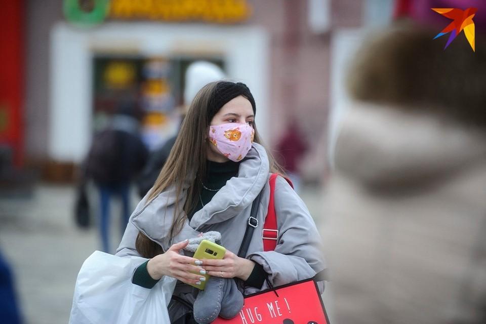 В Минске с 31 марта начинается масштабный мониторинг соблюдения масочного режима.