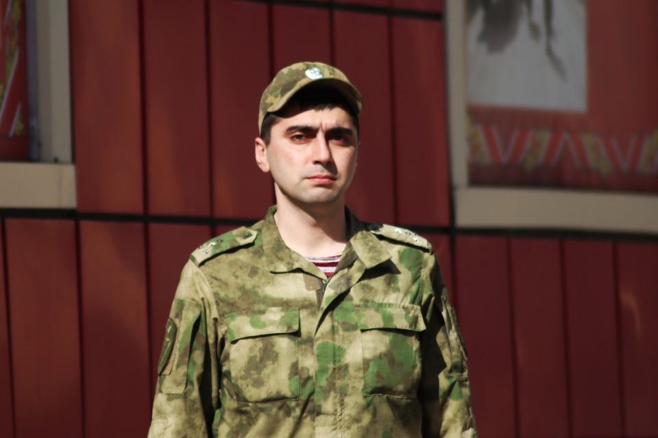 Росгвардеец Самир Козырев. Фото: пресс-служба Управления Росгвардии по Приморскому краю