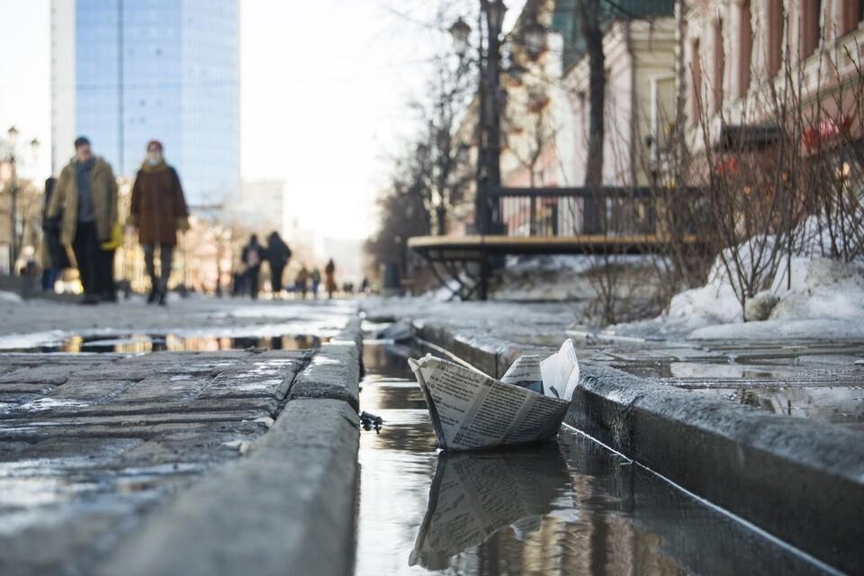 Помимо снега и сильного ветра на Южном Урале ожидается и гололедица