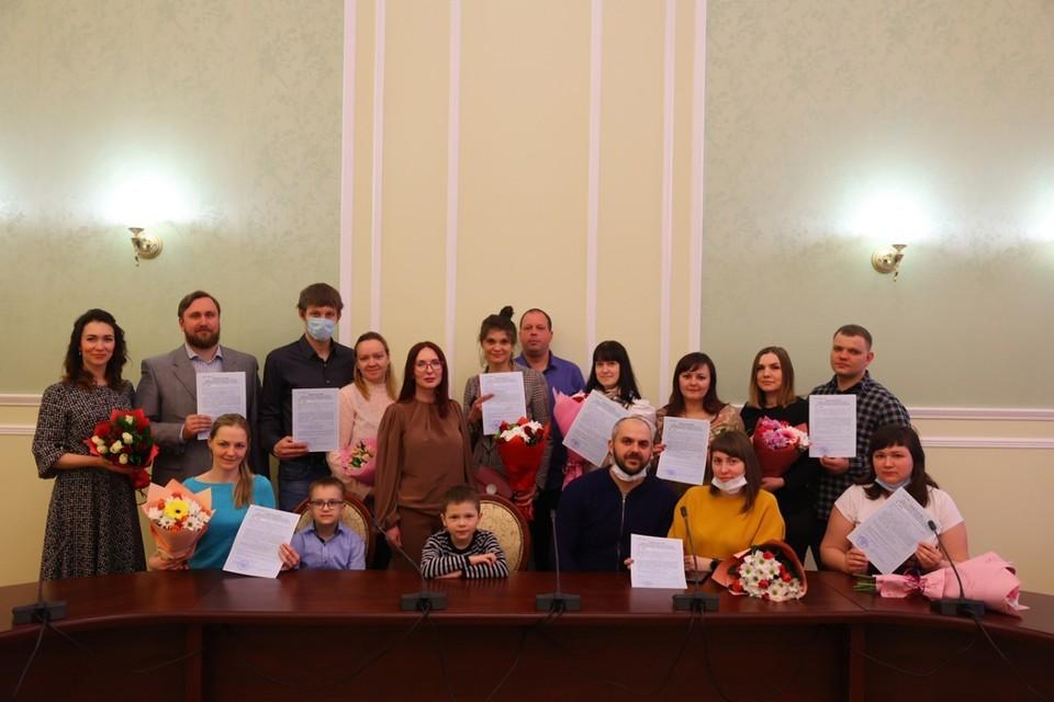 Жилищные сертификаты – это один из способов поддержки молодых семей, проживающих на территории городского округа. Фото: предоставлено пресс-службой администрации Дзержинска