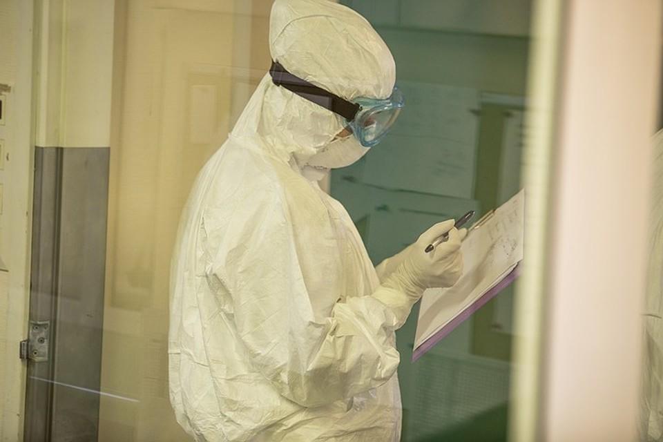 В регионе сейчас развернуто 1 120 коек для больных коронавирусом. Из них свободными остаются 264 единицы.