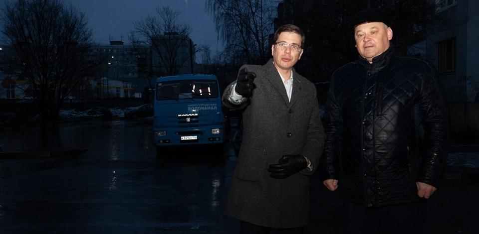 Юрий Шалабаев проверил доступность соцобъектов Нижнего Новгорода во время паводка
