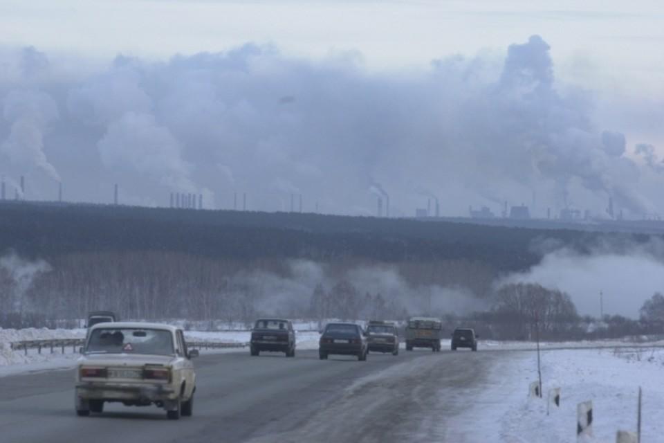 Режим черного неба объявлен в Кузбассе
