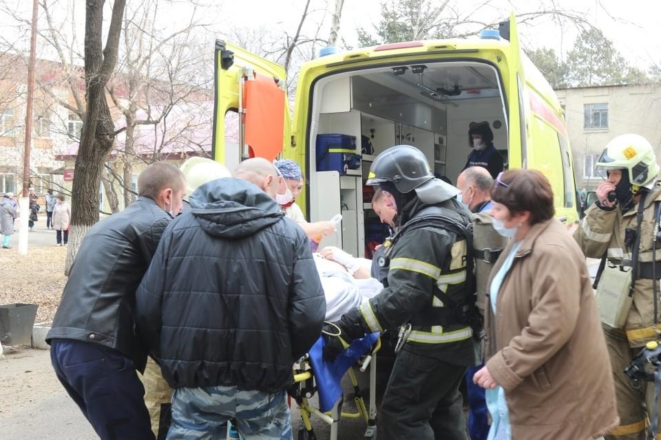 Амурские врачи прославились на всю Россию. Фото: ГУ МЧС по Амурской области