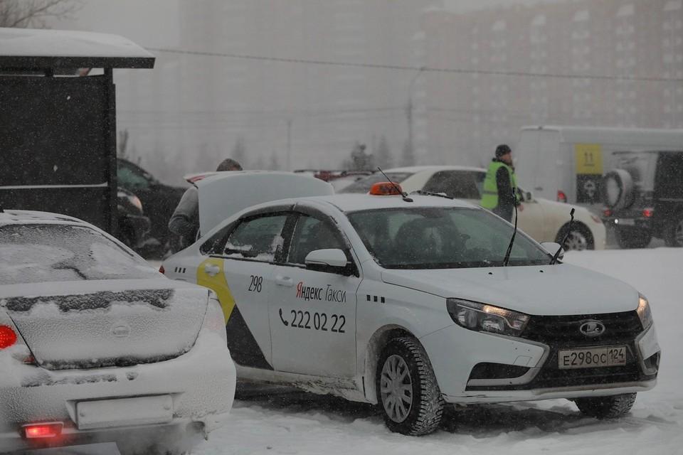 Норильские таксисты устроили акцию протеста