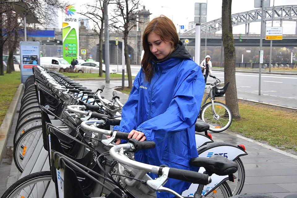 Городской велопрокат в Москве открыли на пару недель раньше срока.