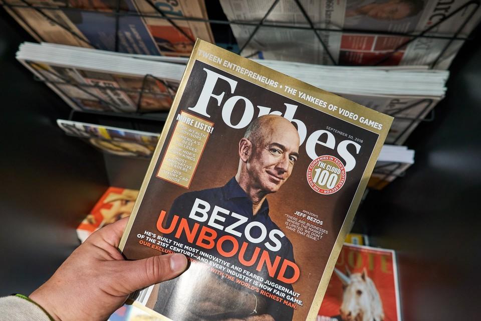 """""""Форбс"""" обновил список самых богатых людей планеты."""