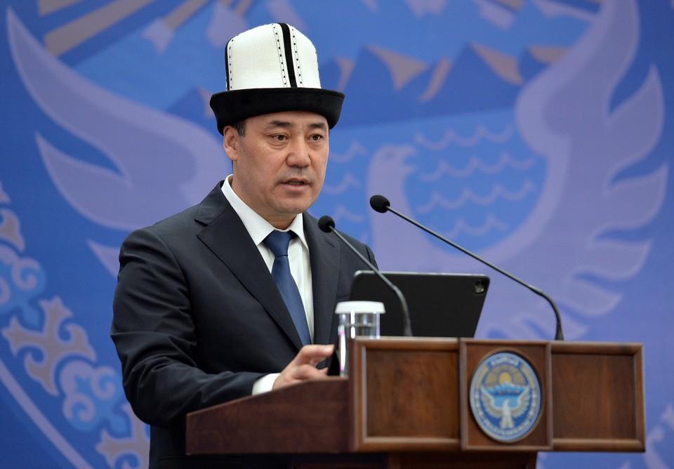 Президент сделал обращение по случаю годовщины Апрельской революции.