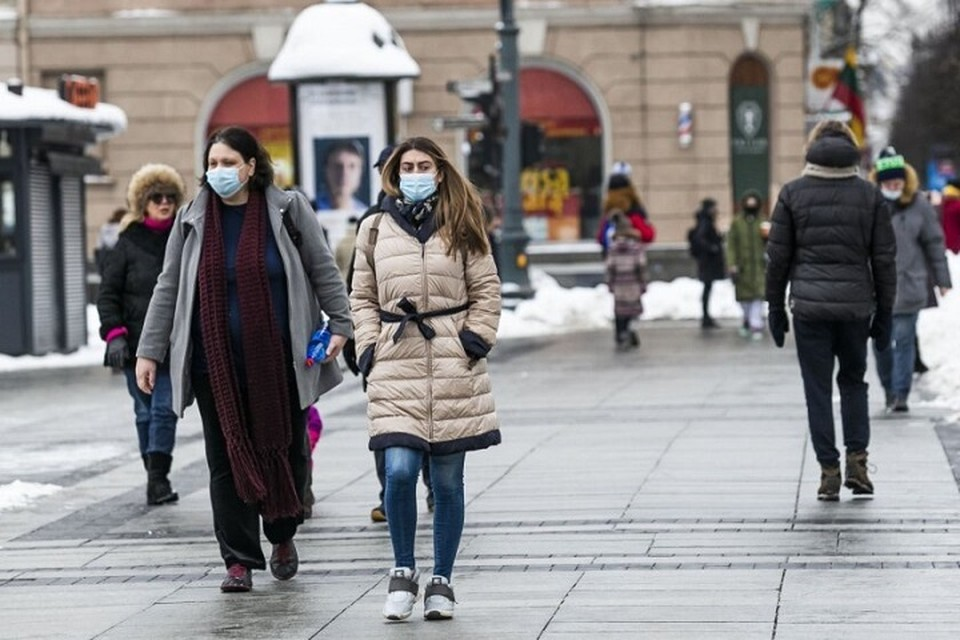 Минздрав Литвы назвал города с самой тяжелой ситуацией по заболеваемости коронавирусом. Фото: DELFI