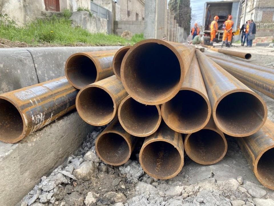 Ремонт водовода в разгаре. Фото: sev.gov.ru